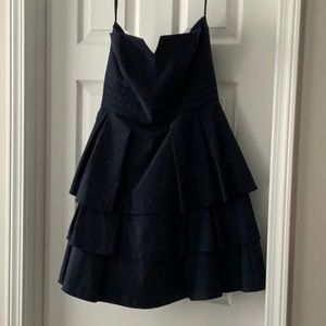 Dresses & Skirts - 🍾GREAT FOR NEW YEARS! Strapless navy dress